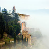 Fog in Tuscany von Gianni Brunacci