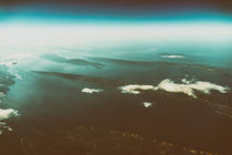 Earth Islands And Mediterranean Sea At 10.000m Altitude Above Gr von Radu Bercan