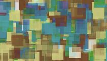 brown yellow and blue square pattern abstract background von timla