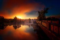 Morgens in Kallmünz  von Stefan Kierek