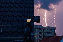 Meine Straße, mein Zuhause, mein Block - Blitzeinschlag von Manuel Paul