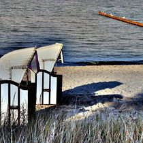 Abendstimmung an der Ostsee by Irmtraut Prien