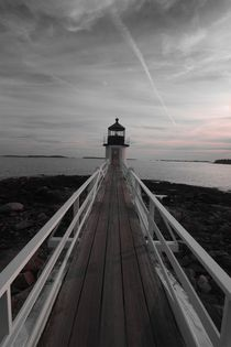 Marshal Point Lighthouse - Maine by usaexplorer
