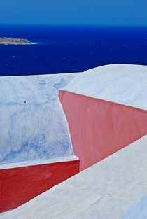 Santorin... 47 by loewenherz-artwork