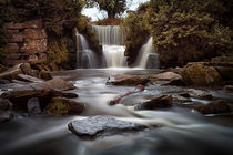 Penllergare waterfalls by Leighton Collins