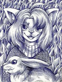 rabbitfriend by sushy