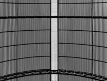 Metal Roof Black And White Abstract by Radu Bercan
