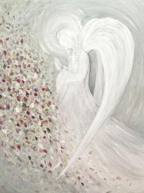 Engelmalerei - der weiße Engel von Chris Berger