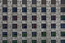Detailaufnahme einer Hausfassade in Barcelona by ralf werner froelich