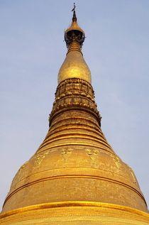 Shwedagon Pagode 2 by Bruno Schmidiger