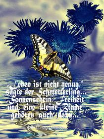 Leben ist nicht genug....... by Chris Berger