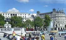 Trafalgar Square, London  by Steffanie Reimann
