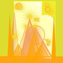 Sparkling spires  by Yolande Anderson