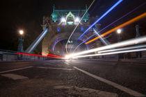 Tower Bridge by night by Jessy Libik