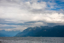 Clouds over the Geneva Lake von Jessy Libik