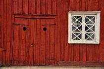 Fassade - Schweden von Peter Bergmann