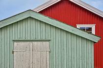 schwedische Holzhäuser von Peter Bergmann