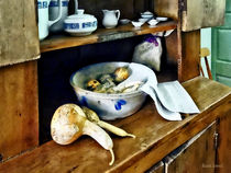 Butternut Squash in Kitchen by Susan Savad