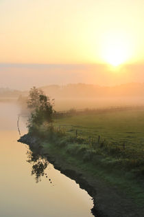 'Morgen mit Sonne, Wolken und Nebel' von Bernhard Kaiser