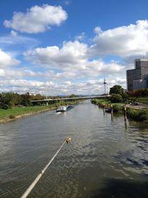 Neckar in Mannheim von 3dassies