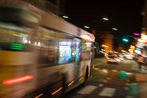 Night Ride In Antwerp von STEFARO .