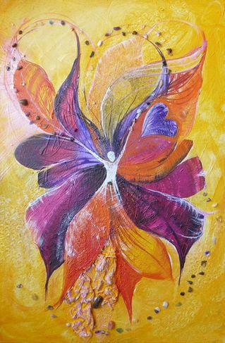 Violett-orange