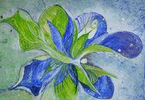 königsblau und frühlingsgrün von Heike Hild