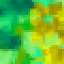 green and yellow painting texture abstract background von timla