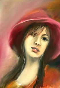 das Mädchen mit dem roten Hut by Ingrid Clement-Grimmer