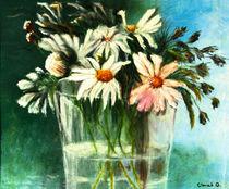 Margeriten-Stillleben von Ingrid Clement-Grimmer