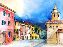 Corvara Ligurien Piazza Ildebrando by Hartmut Buse