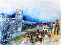 Pisa Piazza dei Miracoli von Hartmut Buse