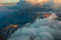 Storm clouds above Alps III by Bor Rojnik