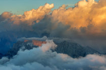 Julian Alps in anticipation for storm by Bor Rojnik