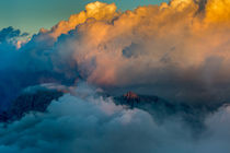 Storm clouds above Alps II von Bor Rojnik