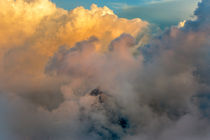 Storm clouds above Alps by Bor Rojnik