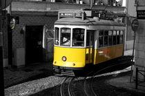 Historische Straßenbahn in Lissabon von Thomas Erbacher
