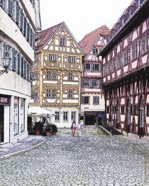 Esslingen, am alten Rathaus  von Peter Esslinger