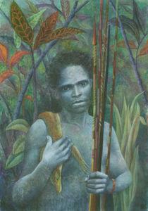 El indígena (Hommage an Salgado) von Nicola Klemz (Knop)