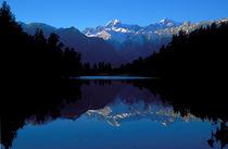 Dawn on the New Zealand Alps von Steven Ralser