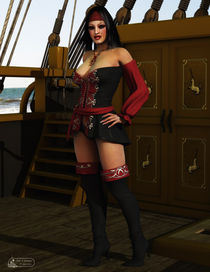 Sexy Pirate by sisterofdarkness