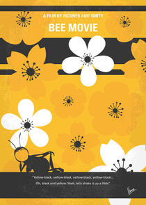 No687 My Bee Movie minimal movie poster von chungkong