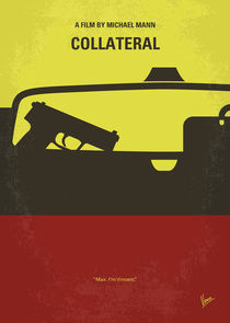 No691 My Collateral minimal movie poster by chungkong