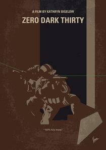 No692 My Zero Dark Thirty minimal movie poster von chungkong