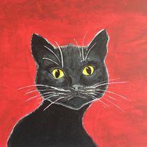 THE BLACK EMINENCE CAT by Hana Auerova