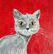 THE GRAY CAT by Hana Auerova