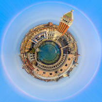 Little Planet Venice - Kleiner Planet Venedig by Silvia Eder