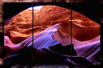 Triptychon - Antelope Canyon by Chris Berger
