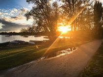 Sonnenuntergang am Ammersee by Daniel Will