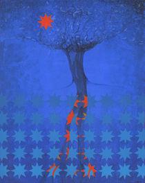 Blue Star Tree by Nicholas Breeze Wood